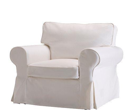 宜家爱克托(布勒丁 白色)单人沙发