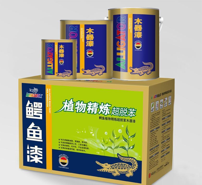 鳄鱼植物精练超脱苯木器漆