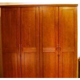 谷氏实木家具-卧室家具-四门衣柜G-6
