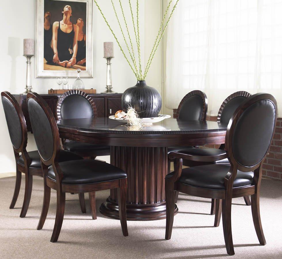FFDM美国精制家具圆餐桌(带加长叶板)520-810520-810,811