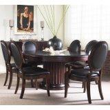 FFDM美国精制家具圆餐桌(带加长叶板)520-810
