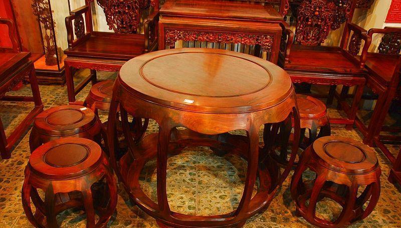元亨利家具园鼓桌/椅E-S-0018
