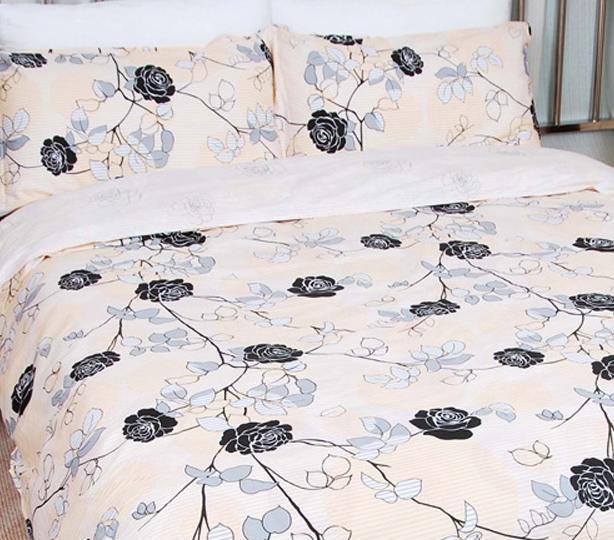 爱可林布兰步舞床上用品欧式斜纹全棉四件套S090S0903005