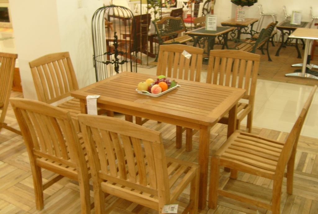 EcoG溢柯柚木长方桌