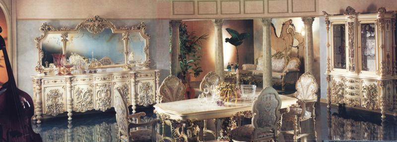 罗浮居餐桌意大利SILIK家具F1-43-015-D21F1-43-015-D21