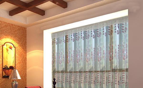 布易窗帘东南亚风情系列珊瑚海-图腾说珊瑚海-图腾说