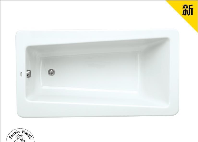 美标1.5M无裙浴缸逸美尚系列CT-6588.002CT-6588.002