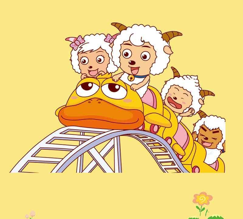 圣象喜羊羊儿童系列PC3003羊羊过山车强化复合地PC3003