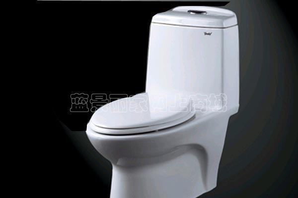 吉事多-丽晶加长连体座厕(305mm)H1535H1535