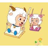 圣象喜羊羊儿童系列PC3002欢乐姐妹强化复合地板
