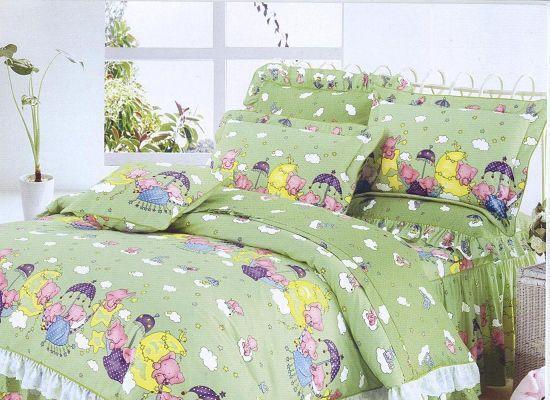 梦洁家纺全棉花边三件套(1.2和1.5床用)28号三件套