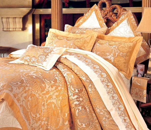图美皇家风范TA9013床盖十件套