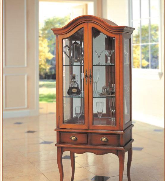 大风范家具新洛可可客厅系列RC-651-2饰品柜RC-651-2饰品柜