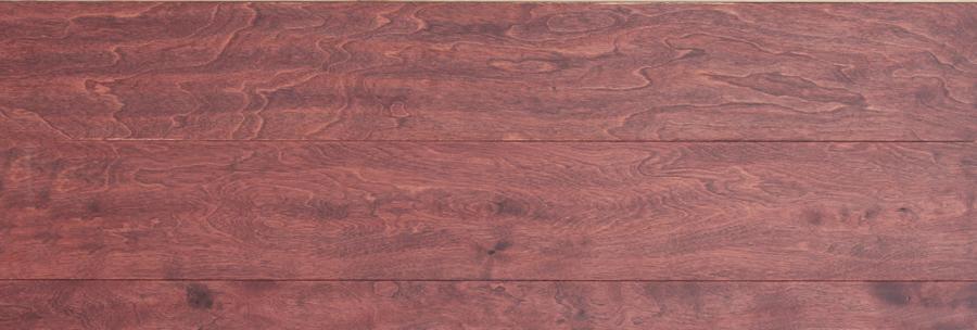 辛巴桦木三层-落日红晕实木复合地板落日红晕