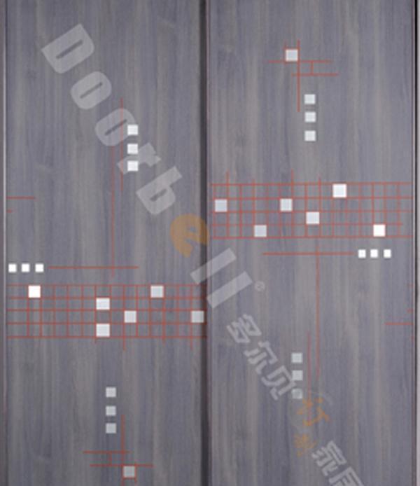 多尔贝丽雅系列LR00054薰雅城市壁柜门LR00054