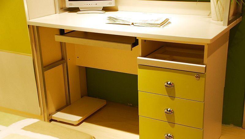 我爱我家儿童家具FG10-AA-G+W组合书桌FG10-AA-G+W