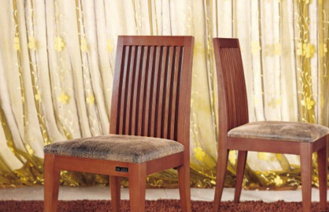 树之语餐厅家具诗琴韵系列2C01-023餐椅2C01-023餐椅