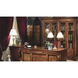 大风范家具奥菲斯书房系列OP-551-2双门书柜