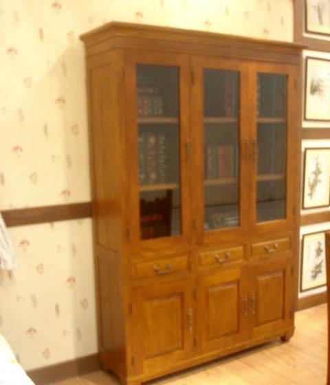 树之语美丽园系列TYW-022A三门书柜TYW-022A