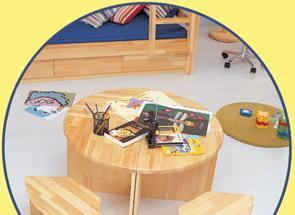雅琴居儿童三角小写字桌家经典星星索系列S6287-S6287-1