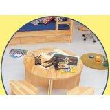 雅琴居儿童三角小写字桌家经典星星索系列S6287-