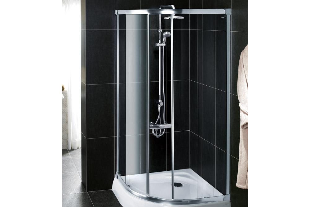Nateo 纳帝奥 圆弧型标准淋浴房K-17116T-L-SHP/-L-0