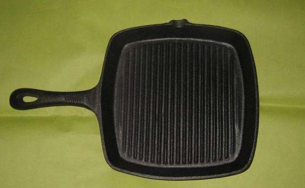 双立人生铁锅铸铁煎锅牛排煎盘铁锅搪瓷炒锅