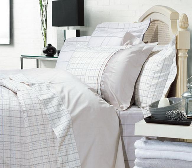 罗莱家纺简约套件系列全棉缎纹床品四件套-纽约纽约时尚DY150