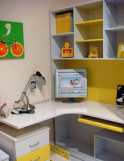 彩虹宝书房家具-转角桌9#9#