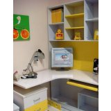 彩虹宝书房家具-转角桌9#