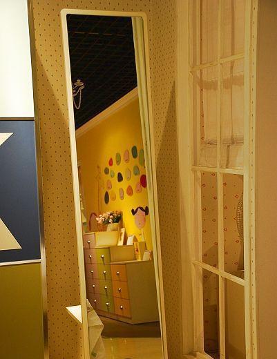 我爱我家儿童家具FK05穿衣镜FK05