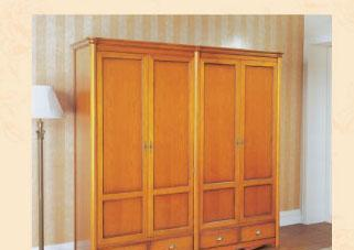 大风范家具洛可可卧室系列RC-851-4四门衣柜RC-851-4四门衣柜