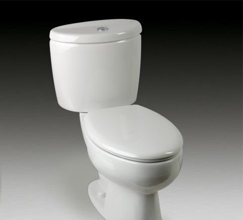 乐家卫浴米兰系列加长型座厕(欧乐盖板)3-48455.3-48455..0