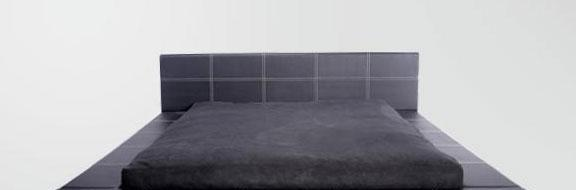 麦斯得尔床系列克拉克床黑c08