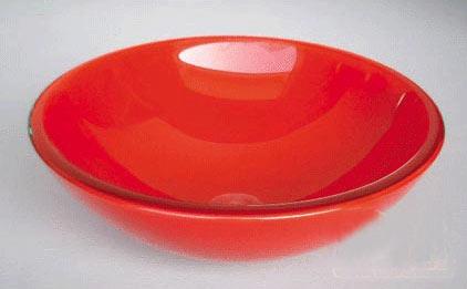 古亚双层玻璃盆S158