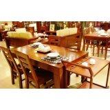 华日餐厅家具-餐桌-D9823