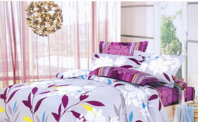 瑞如家纺环保活性印花精梳棉婚庆床上用品HX20四HX20