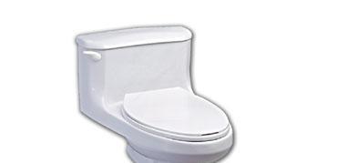 美标CP-2098汉密尔顿节水型连体加长座厕 (横排CP-2098