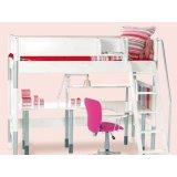丹麦芙莱莎儿童家具高床组合HILBERT2(白色)