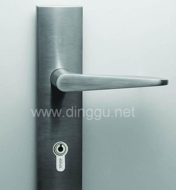 顶固A3708SN锌合金大弹子插芯门锁A3708SN