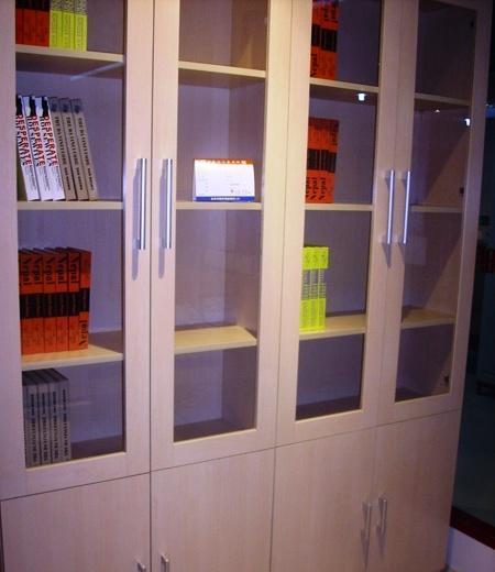 世纪大明书房家具-四门书柜M001M001
