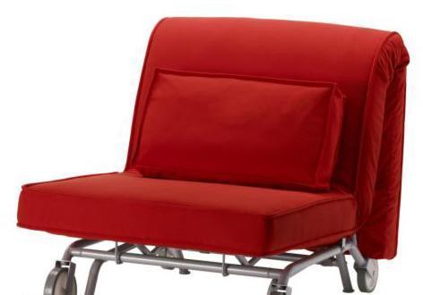 宜家IKEA PS哈维特 垫套(罗玛 红色)单人沙发床