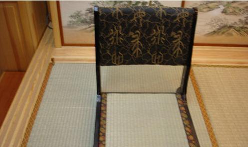 艺唐和室榻榻米木折椅