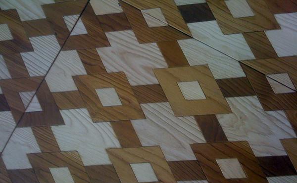 安然踏步LT625#多层实木复合地板(法式经典拼花LT625#