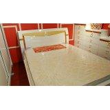 双虎卧室家具双人床B802