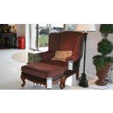 美克美家MK7910-4 2N215 M08皮布单人沙发