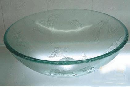 古亚单层玻璃盆D342