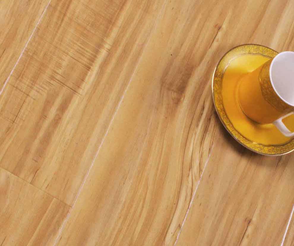 格林德斯.泰斯地板强化复合地板钻石U型槽-瑞士瑞士桃木