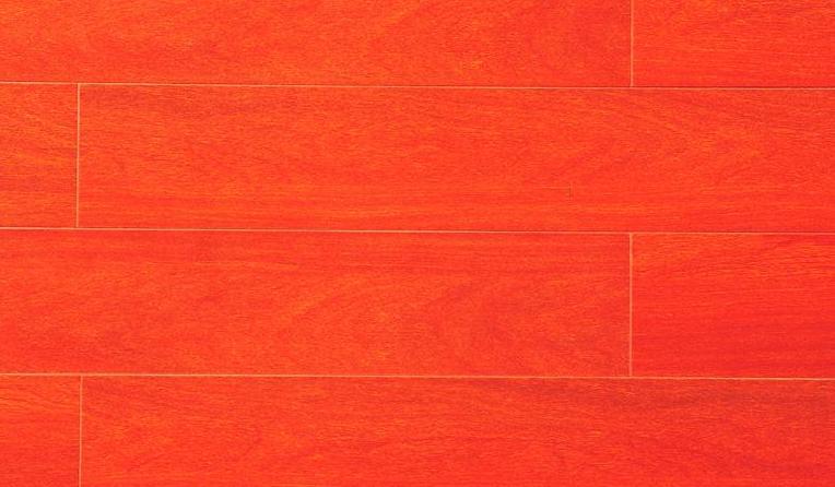 标王亚实木地板温哥华红木B1816