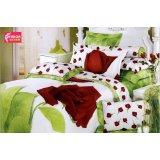法诺雅大被套床上用品四件套全棉欧韩款式活性印